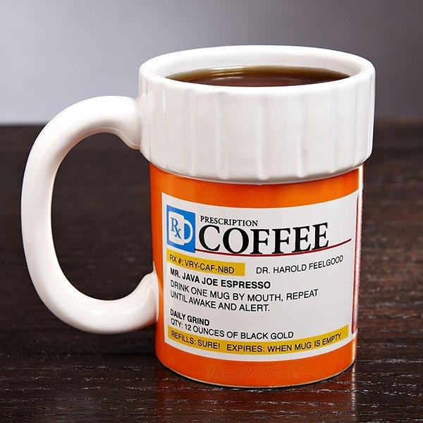 Creative FunnyThe Prescription Pill Bottle Ceramics Coffee Mug
