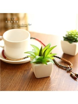 Wonderful Succulent Plant Artificial Flower Home and Office Desktop Flower Sets