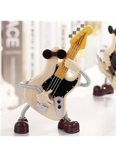 Creative Guitar Man Musical Box Desktop Decoration