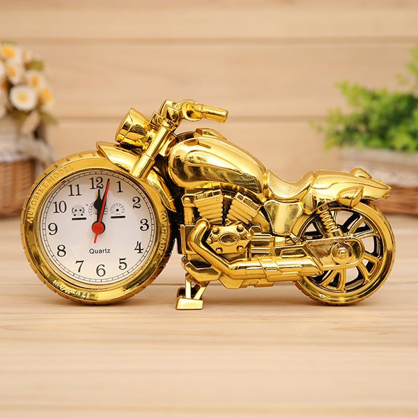 Amazing Motorcycle Desktop Clock Desktop Decoration
