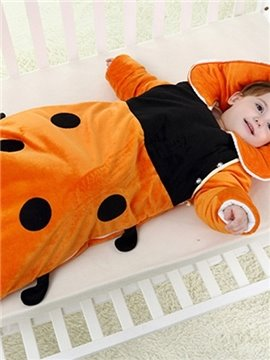 Lovely Little Ladybug Pattern Baby Sleeping Bag