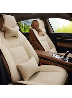 New Arrival Soft and Comfortable Linen Material Car Seat Covers