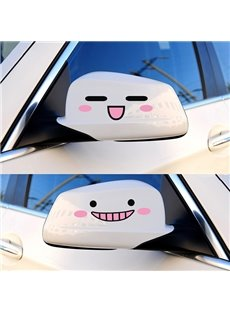 Adorable Smiling Cute Face Creative Car Stickers