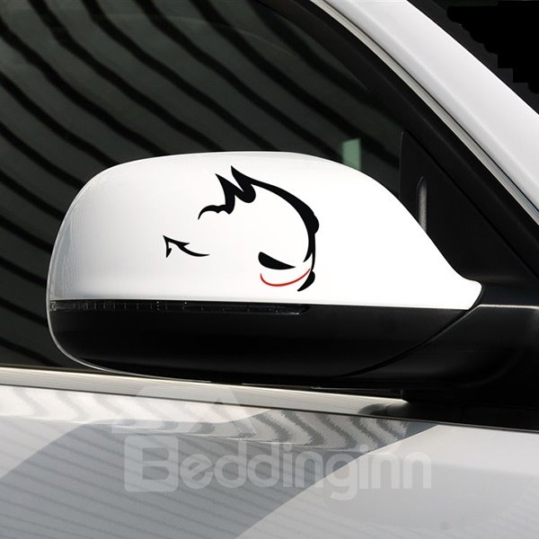 Angry Rabbit Looking At You Pattern Creative Car Stickers