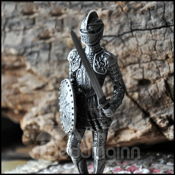 Silver and European Style Special Knight Artware