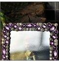 Romantic Creative Purple Crystal Decoration Photo Frame