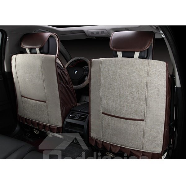 Super Comfortable and Breathable Linen Car Seat Covers