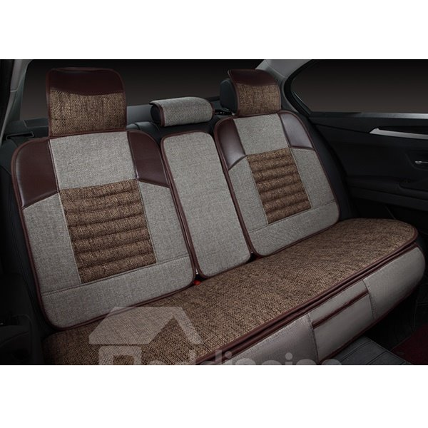 super comfortable and breathable linen car seat covers. Black Bedroom Furniture Sets. Home Design Ideas