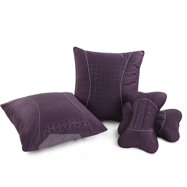 Perfect Craft and Beautiful Pattern Car Pillow Sets