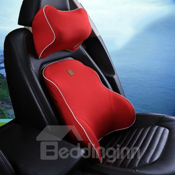 Unique New Style Design Multi-Colors Car Pillow Set