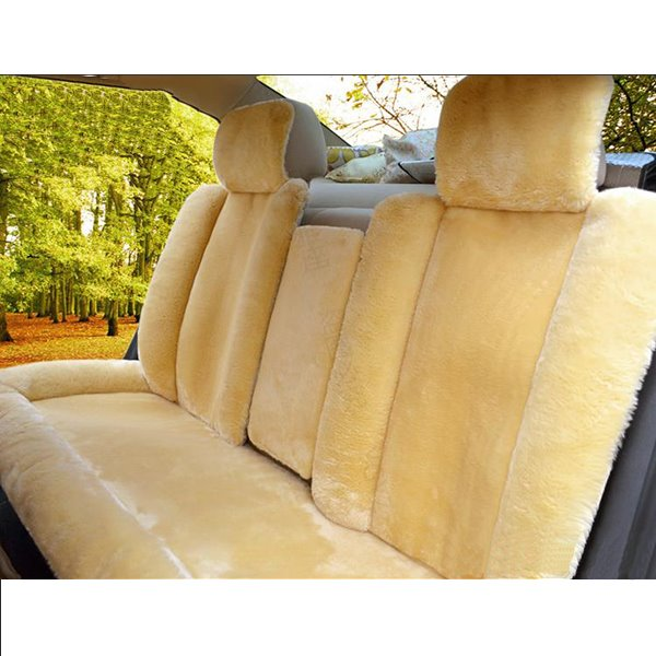 Super Comfortable and Soft Plush Material Universal Car Seat Covers