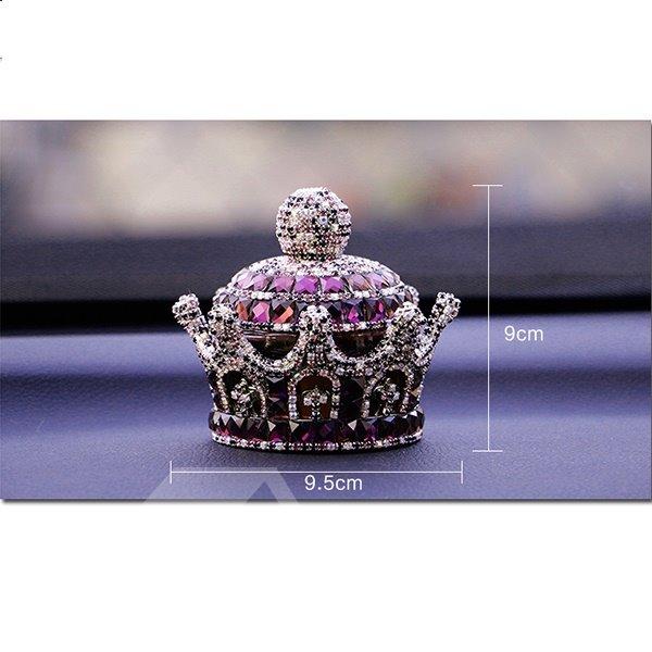 Unique Luxurious Cristal Crown  Creative Car Decor