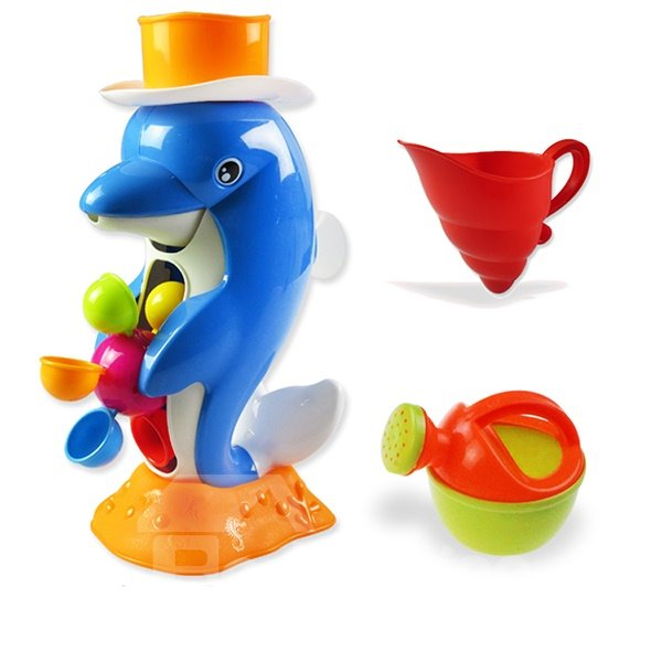 Cool Bath Toys : Bath toys cool blue little dolphin baby was