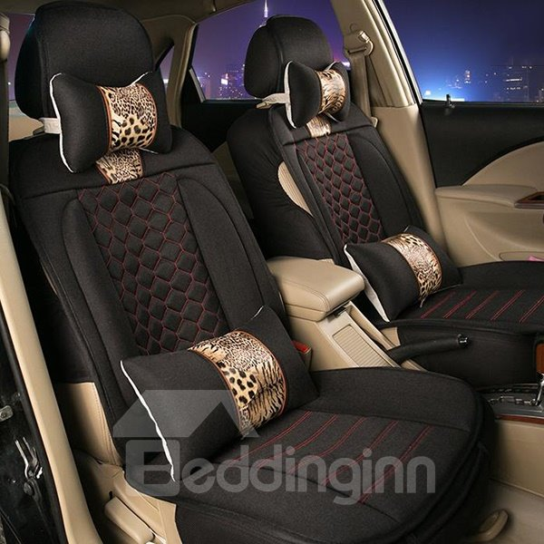 Perfect Tiger Pattern With Luxurious Design Car Seat