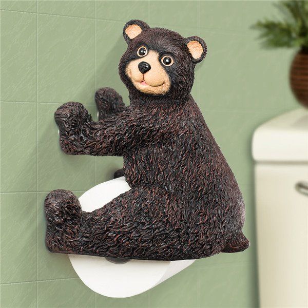 Top Grade Little Bear Novelty Toilet Paper Holder