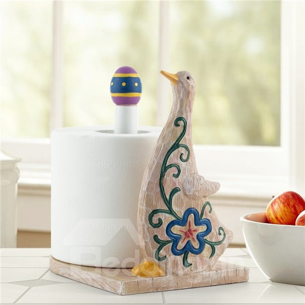 Funny little duch shape country style toilet paper holder Funny toilet paper holder