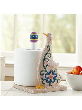 Funny Little Duch Shape Country Style Toilet Paper Holder