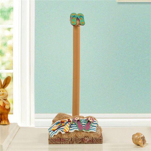 Creative beach sandal image unique toilet paper holder Creative toilet paper holder