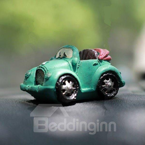 Redio Designed Blue Convertible Creative Car Decor