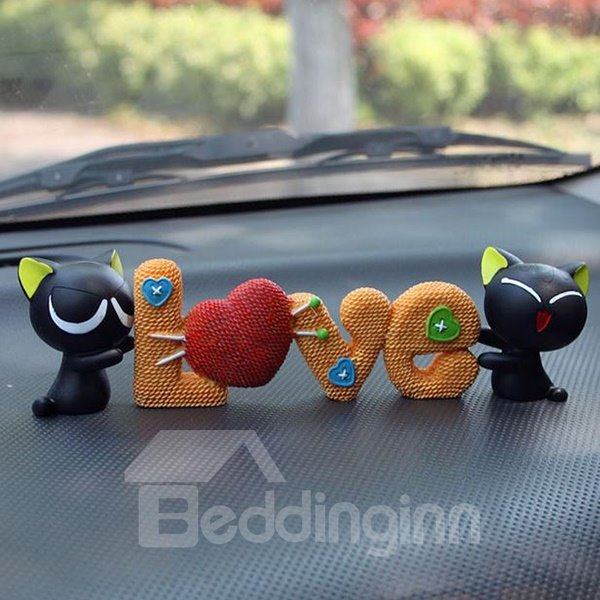 Super Lovely Black Cats Creative Car Decor