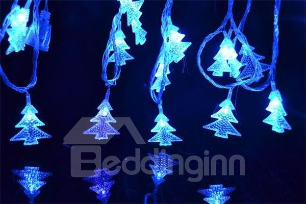 Fashion Christmas Tree Style 4cm Battery Strip Light