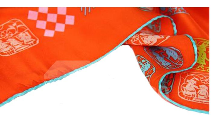 Trendy Urban Style Square Mulberry Silk Scarf