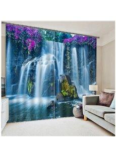 Famous Huangguoshu Waterfalls Scenery 3D Curtain