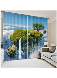 High Quality Polyester 3D Scenery Blackout Curtain
