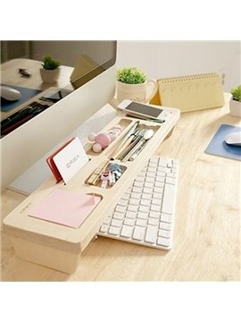 Versatile Desk Organizer Keyboard Shelf Desktop Decoration