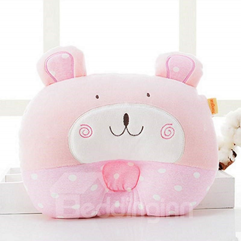 Cute Animal Shape Prevent Flat Head Baby Pillow
