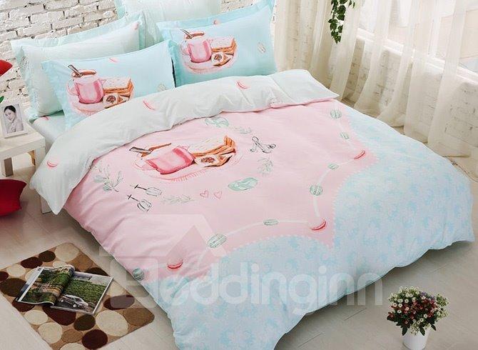 Beautiful Morning Kids 4-Piece Cotton Duvet Cover Set