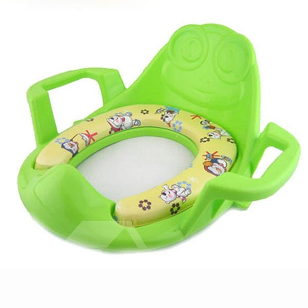 Stunning Soft Cartoon Pattern Baby Toilet Seat Cover