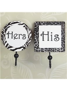 Creative Hers and His Couple Set Wall Hook