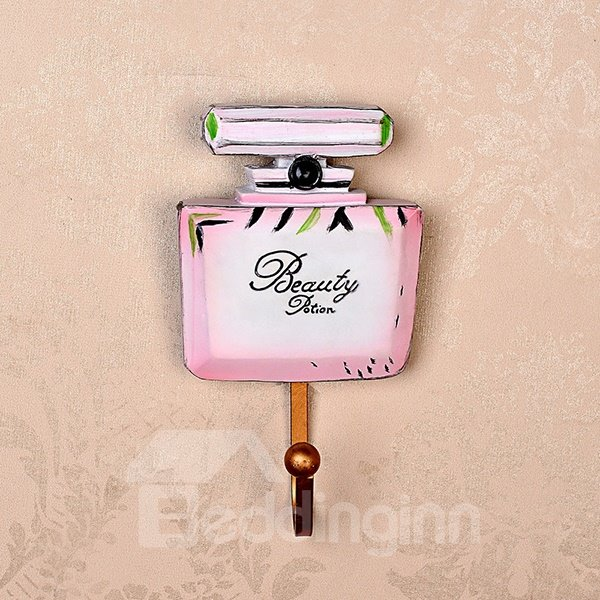 Lovely High-Heels and Perfume Design 1-Set Resin Wall Hooks