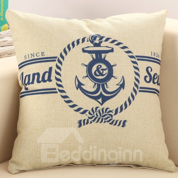 Super Fluffy Mediterranean Style Decorative Throw Pillow