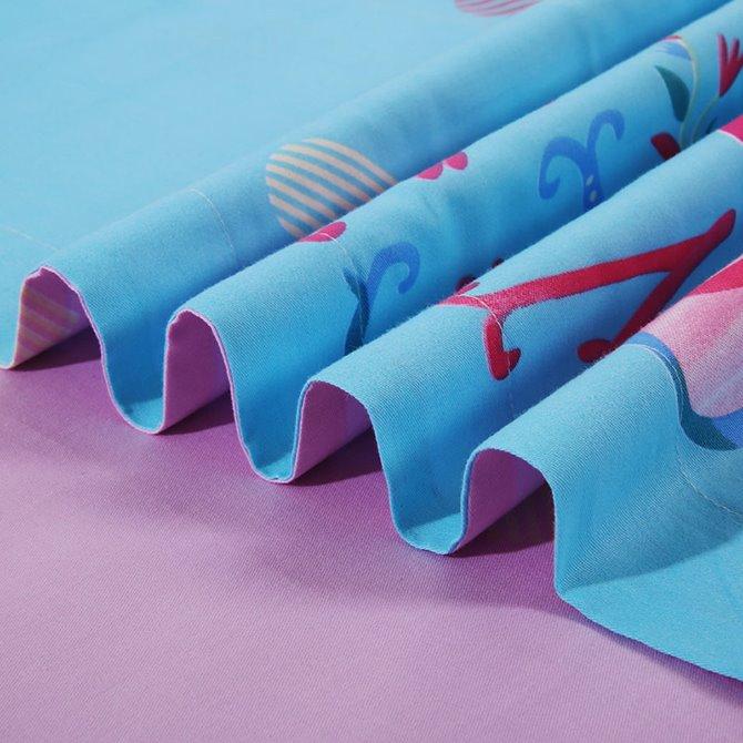 Romantic Heart Shape Pattern Kids 4-Piece Duvet Cover Set