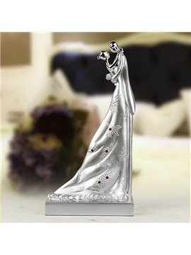 Wedding Gifts Romantic Hugging Lovers Desktop Decoration