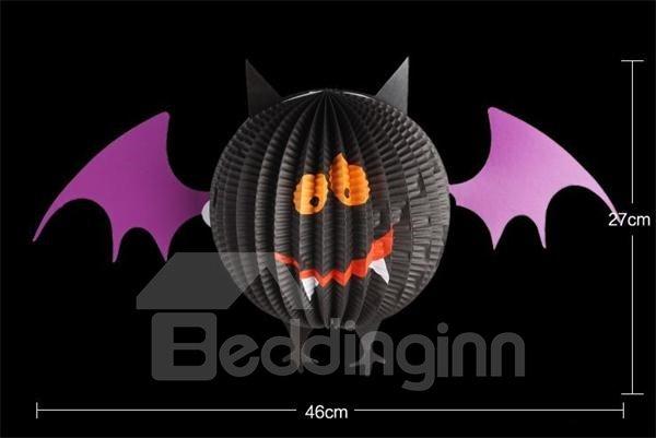 Cute Bat Pendant Halloween Lantern Decoration