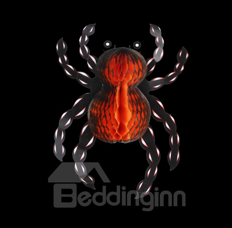 Horrific Spider Lantern Halloween Decoration