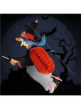 Original Creepy Witch Lantern Halloween Decoration