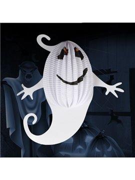 White Ghost Foldable Halloween Decoration Lantern