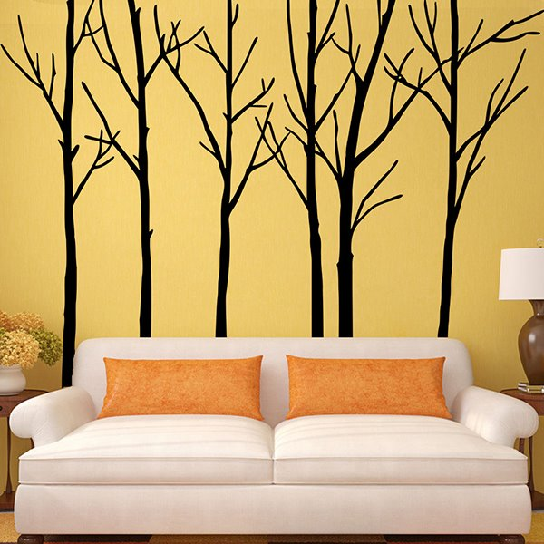Amazing branches extra large background decoration removable wall sticker Home decor wall decor australia