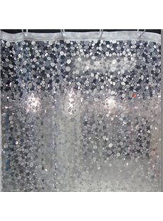 Environmental Diamond Design 3D Bathroom Shower Curtain