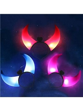 Large Size Shiny Horn Pattern Halloween Decoration