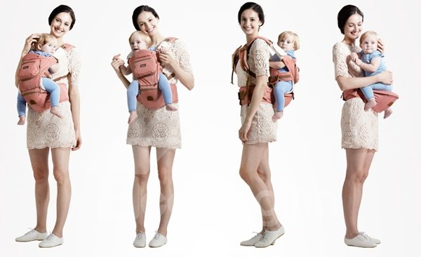 Big Capacity Multi-Functional 8-in-1 Baby Hipseat Carrier