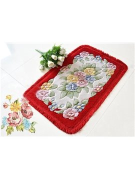 Continental Pastoral Style Skid-resistant Back Waterproof Bath Mats