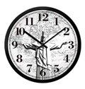 Religious Brazil Corcovado Jesus Design Mute Wall Clock