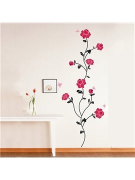 Gorgeous Romantic Flowers Various Arrangements Removable Wall Stickers