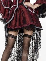 Luxurious Lace and Layered Design Vampire Countess Costume