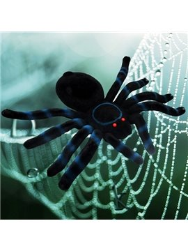 Lifelike Fearful Fuzzy Spider Halloween Decoration